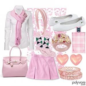 أزياء روع،،،،،ــــة من ذوقي للون الوردي