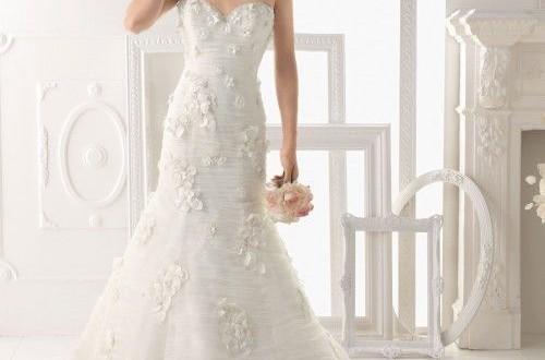 فساتين زفاف فخمه 2014 – فساتين افراح روشه 2014 – احدث فساتين زفاف 2015