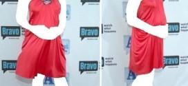 فساتين سهرات جميلة للحوامل 2014 ، فساتين سوارية للحوامل 2014
