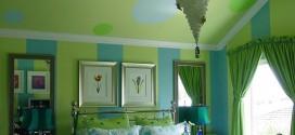 ديكورات باللون الأخضر
