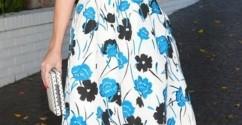 النجمة Reese Witherspoon تفضّل الورود!