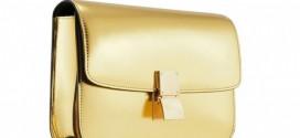 حقيبة The Gold Classic Box من Celine