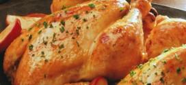 دجاج مشوي بالليمون والزنجبيل لرجيم صحي