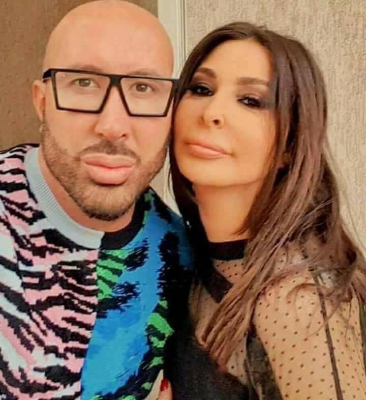 اليسا والمصور اللبناني وديع النجار