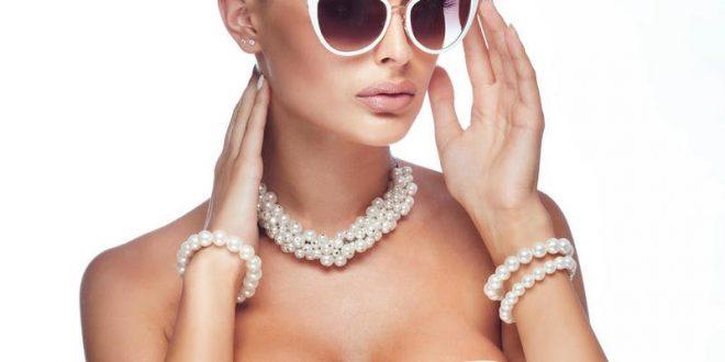 تصاميم مجوهرات من اللؤلؤ الطبيعي