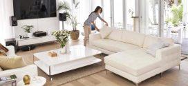 كيفية تنظيف الارائك المنزلية