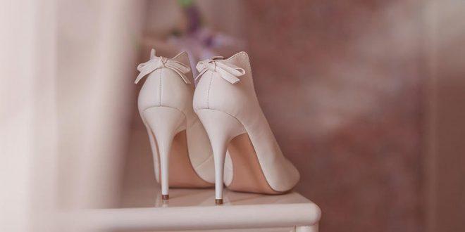 أحدث صيحات أحذية الزفاف