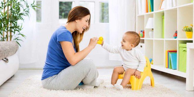 علاج الإمساك عند الاطفال