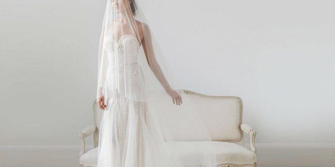 أشيك طرح الزفاف 2018