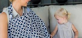 مع أم ضد غطاء الرضاعة الطبيعية في الأماكن العامة