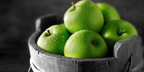 اهمية  التفاح الأخضر