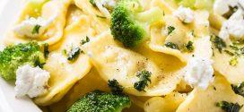 وصفة رافيولي بالخضروات