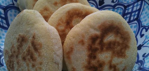 تحضير الخبز المغربي