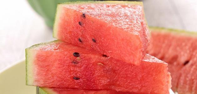 معلومات عن اهمية البطيخ