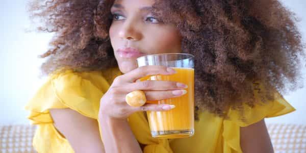اهمية عصير الجزر للشعر