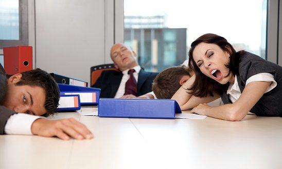 مواجهة التعب في العمل