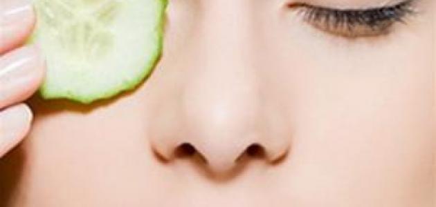 فوائد الخيار للعيون