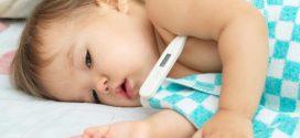 وسائل خفض حرارة الطفل