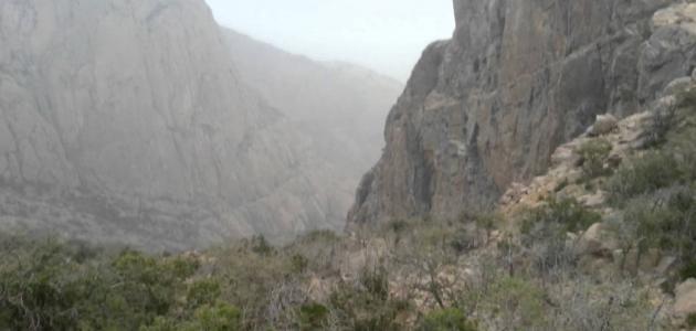 اقسام جبال السروات