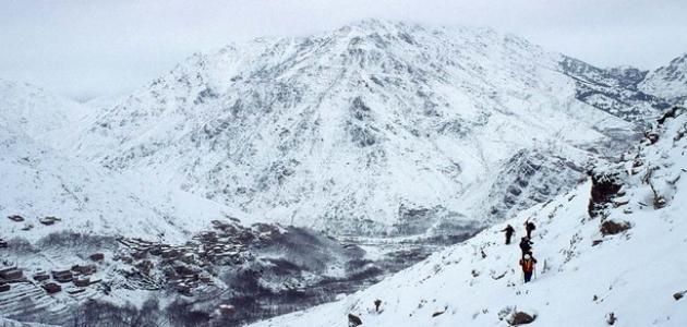 موقع جبل توبقال
