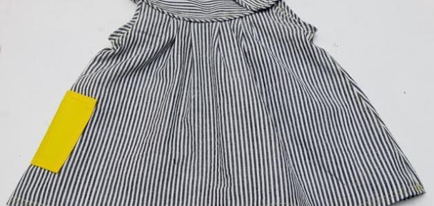 كيفية خياطة فستان طفلة