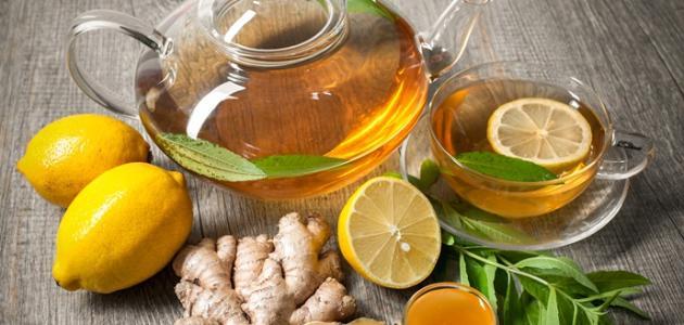 اهمية الزنجبيل مع العسل والليمون