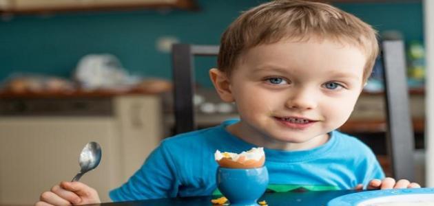 فائدة صفار البيض للأطفال