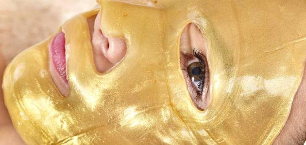 اهمية قناع الذهب