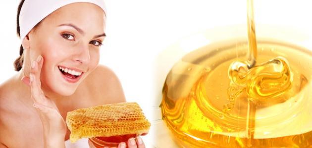استعمال العسل للوجه