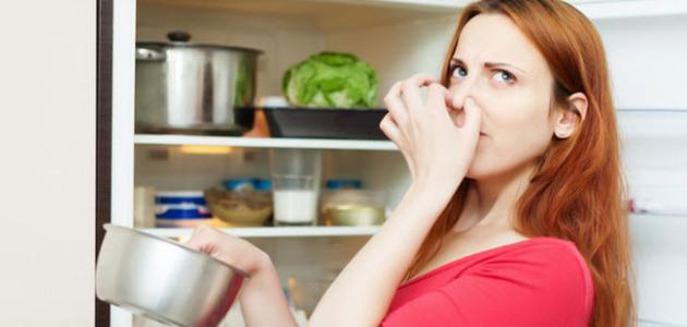 اهمية التخلص من رائحة الثلاجة الكريهة