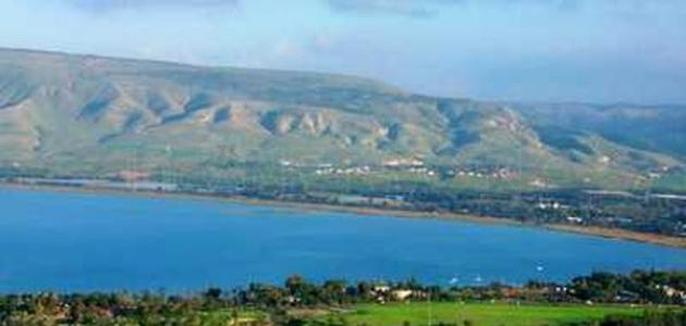 تعرف على  بحيرة طبريا
