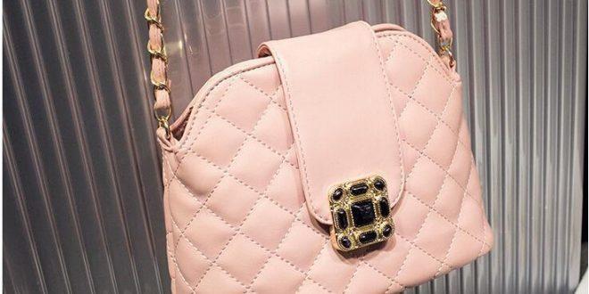 حقائب باللون الوردي  شيك